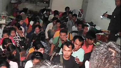 More than 100 illegal migrants discovered on Thai border