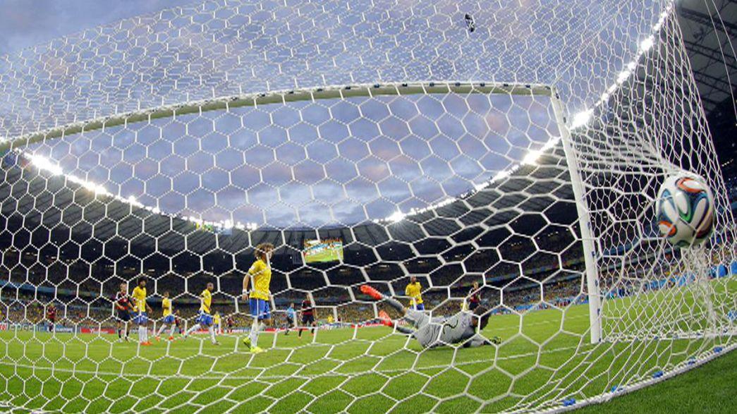 Alemanha varreu o Brasil do Mundial