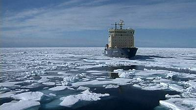 Global warming creates Arctic shipping route opportunity
