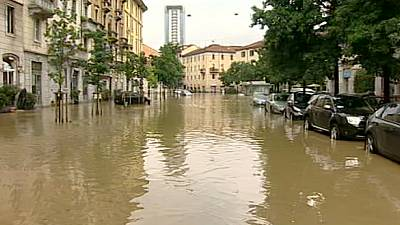 Two bodies found in northern Italy floods