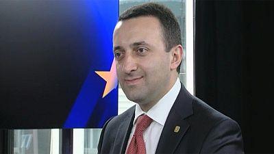 Georgian PM hails 'European dream'