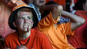 Dutch fans watch their dream of a World Cup final disappear
