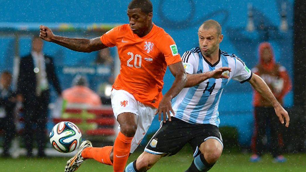 Чемпионат мира-2014: Аргентина пробилась в финал к Германии