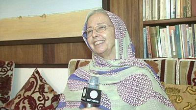 Nancy Jones and her Mauritanian camel milk