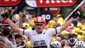 Tour de France: Greipel sprints to stage six victory