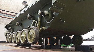 Ucrânia incrementa produção de armamento