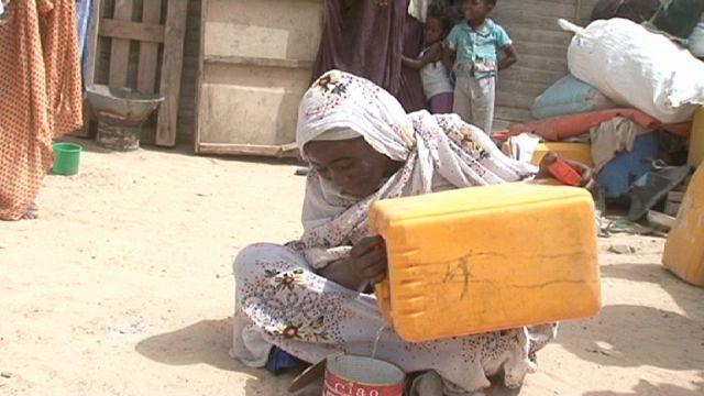 Moritanya'da kuraklık alarm veriyor