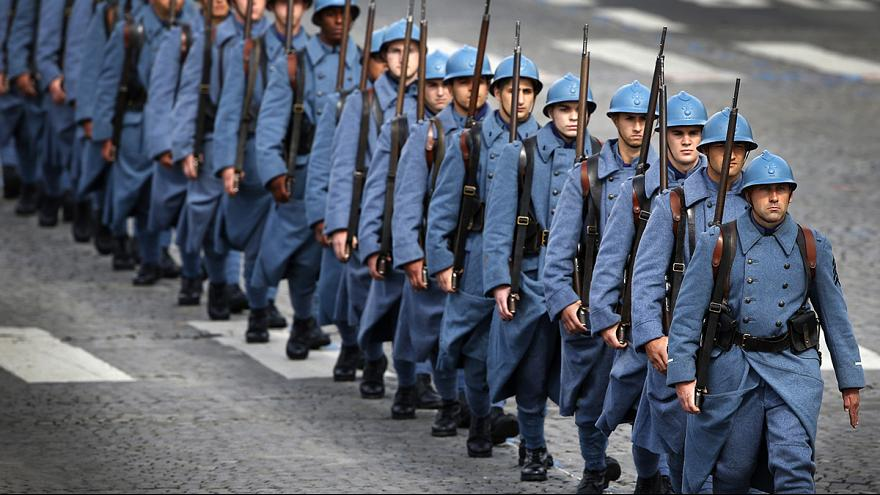 Watch LIVE coverage of World War I centenary commemoration at Paris's Bastille Day parade