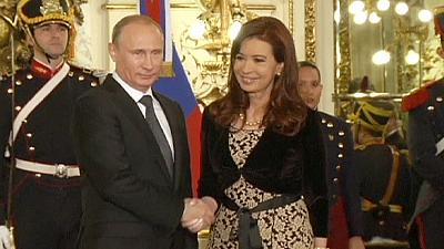 Russia signs nuclear deals with Argentina during Putin's tour of Latin America