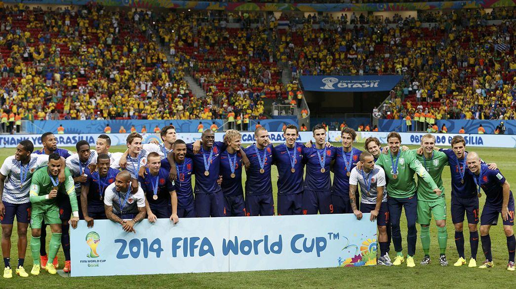 Termina la pesadilla para Brasil en la Copa del Mundo de fútbol
