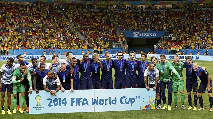 World Cup: Netherlands beat Brazil to finish third