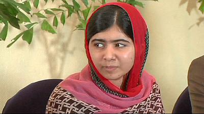 Malala meets families of kidnapped Nigerian schoolgirls