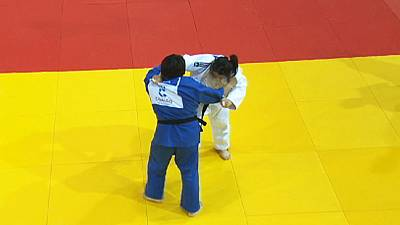 Judo Grand Slam: Der zweite Tag in Tjumen