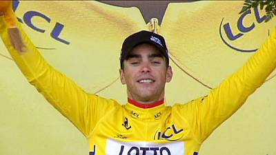 Tour de France: Martin wins stage nine as Gallopin takes race lead