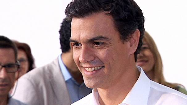 Pedro Sanchez is elected leader of Spain's Socialists