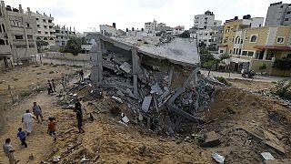 La situation entre Gaza et Israël au septième jour des opérations de Tsahal