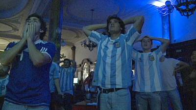 Argentines look on bright side of World Cup defeat