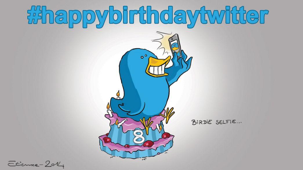 Rekordot döntött a nyolc éves Twitter