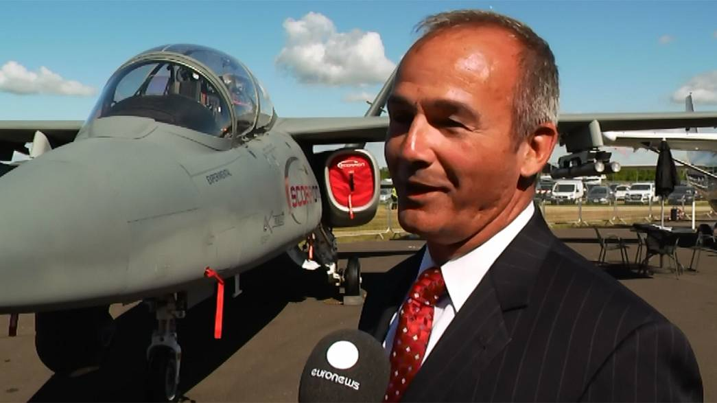 Scorpion shows a sting in the tail at Farnborough Airshow