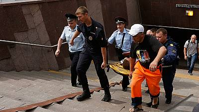Moscow day of mourning declared after metro derailing disaster