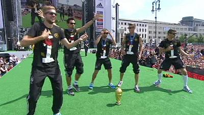 German football team celebrates World Cup victory – nocomment