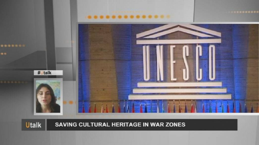 Saving cultural heritage from the ravages of war