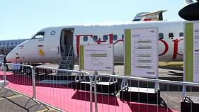 Record numbers at Farnborough International Airshow