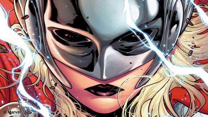 Bande dessinée : Thor change de sexe