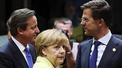 Leaders haggle over top EU jobs