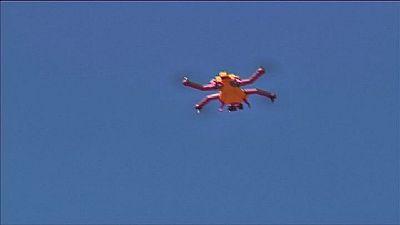 AirDog: Drohne folgt Sportlern auf Schritt und Tritt