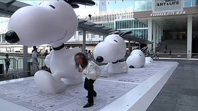 Japanese artists bring Snoopy dreamland to Hong Kong