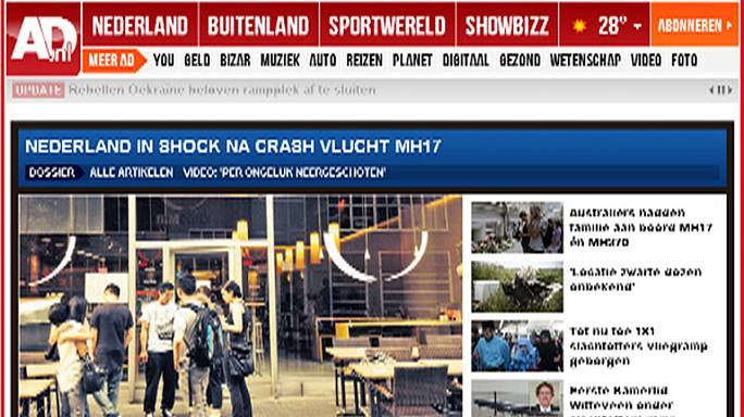 Le vol MH17 à la une des médias internationaux