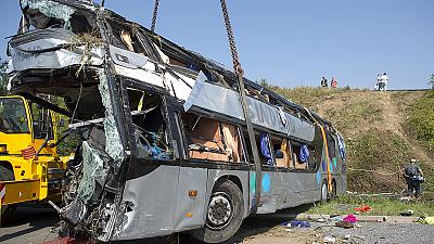 Several killed and scores injured in Germany bus crash