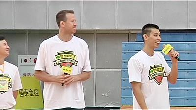 LA Lakers signing Lin holds training camp in Taiwan