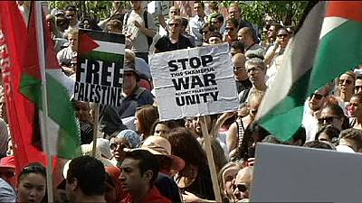 Stockholm demonstrates in support of Palestine – nocomment