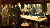 Germany signs the Armistice of Compiègne