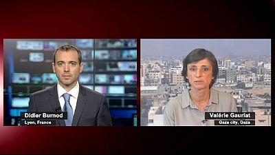 """""""A los palestinos les falta de todo, no viven, sobreviven"""""""
