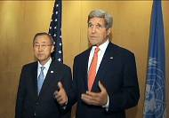 Kerry launches diplomatic push for a ceasefire in Gaza
