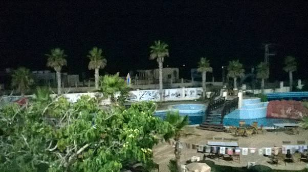 "From our Gaza correspondent: the ""safe"" haven of the hotel"