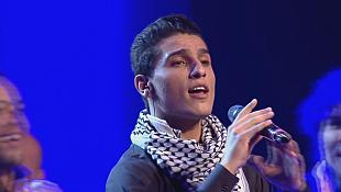 """My songs speak louder than bullets,"" says Palestinian Arab Idol celebrity"