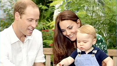 Official photos capture Prince George's first birthday