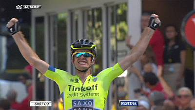 Tour de France: Australian Rogers claims maiden win