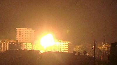 Israel keeps up its offensive against Gaza militants