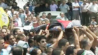 Palestinian Funeral in West Bank – nocomment