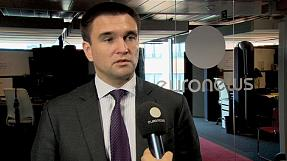 EU attitude to Moscow has changed, says Ukrainian Foreign Minister Pavlo Klimkin