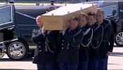 The Netherlands receives first bodies from Flight MH17 with sombre ceremony