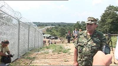 Fence to control migrants finished along Bulgarian-Turkish border