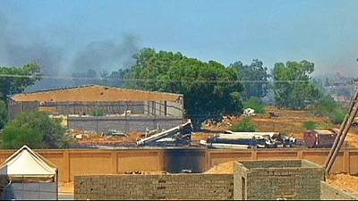 Clashes rage near Tripoli airport