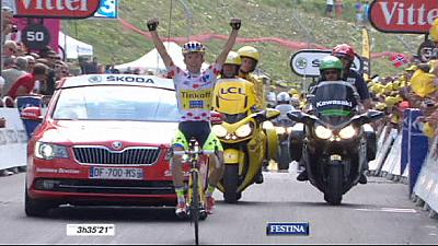 Tour de France: Majka claims stage 17