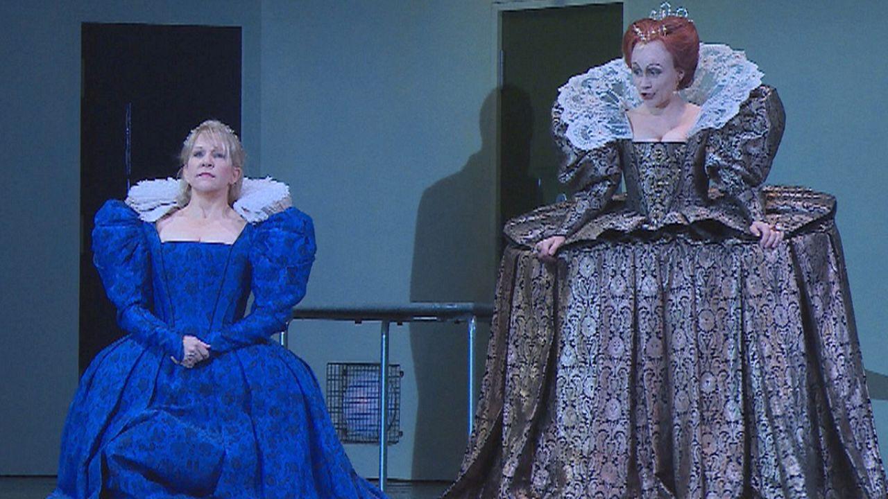 """""""Maria Stuarda"""" di Donizetti: due regine dell'opera conquistano Londra"""